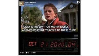 Fact Check: 'Today' Is NOT The Day That Marty McFly Arrives When He Travels To The Future -- That 'Today' Was 5 Years Ago