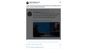 Fact Check: Twitter Warning NOT Just For Biden Retweets; New Policy Applies To All Retweeted Material