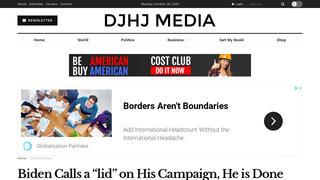 Fact Check: Joe Biden Did NOT Suspend All In-Person Campaign Events