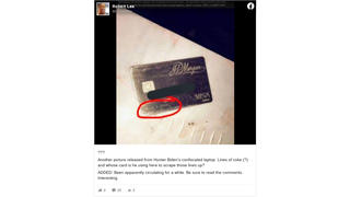 Fact Check: Malia Obama Credit Card Photo Is NOT New -- There Is NO Proof It Was Found On Hunter Biden's 'Laptop'