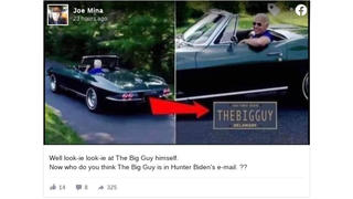 Fact Check: Joe Biden's Corvette License Plate Does NOT Say 'THEBIGGUY'
