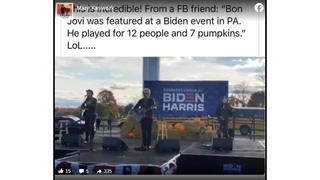 Fact Check: Bon Jovi Did NOT Perform For A Crowd Of 12 At Biden Campaign Event