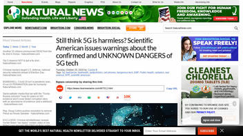 Fact Check: Scientific American Did NOT Warn That 5G Is Unsafe, An Op-Ed Guest Writer Did