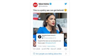 Fact Check: AOC Did NOT Urge Company To 'Expand The Size Run So Everyone Can Have A Pair'