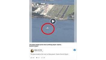 Fact Check: Santos Dumont Airport In Rio De Janeiro Does NOT Have A 1,300-foot Runway
