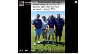 Fact Check: This Photo Does NOT Show Joe Biden Golfing With Burisma's CEO