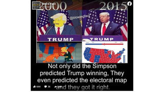 Fact Check: 'The Simpsons' Did NOT predict Donald Trump's 2015 Candidacy Announcement Or The 2016 Electoral Map