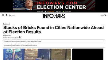 Fact Check: Stacks Of Bricks Found in Cities Nationwide Are NOT Connected To Election Results
