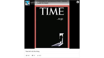 Fact Check: Time Magazine Did Not Publish Cover Showing Donald Trump And The Text 'Time To Go'
