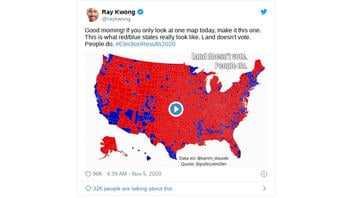Fact Check: This Graphic Is NOT A Map From The 2020 Election, It's From 2016