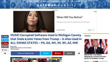 Fact Check: NO Evidence Corrupted Software Was Used In Michigan; 6,000 Votes NOT 'Stolen' From Trump