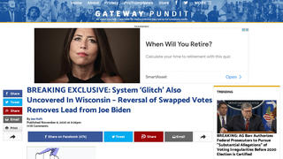 Fact Check: Wisconsin County Did NOT Transfer Votes From Trump To Biden, An AP Data Feed Made An Error