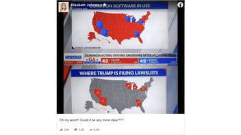 Fact Check: Comparative Maps Do NOT Prove Dominion Software Was Used In States Where Trump Lawsuits Challenge Vote-Counting