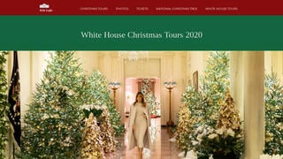 Fact Check: Website Posting 'Final Holiday Season For The Trump White House' Is NOT The Official White House Site