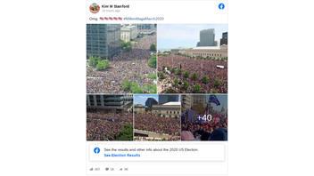 Fact Check: Several Photos Of 2016 Cleveland Cavaliers Parade Do NOT Show November 14, 2020 Trump Protests in Washington D.C.