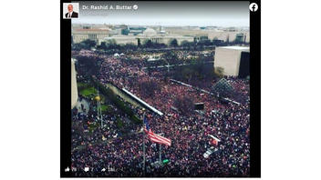 Fact Check: This Picture Shows The 2017 Women's March In Washington D.C.