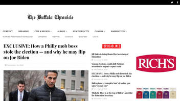Fact Check: Mobster 'Skinny Joey' Merlino Was NOT Behind President-elect Joe Biden's Win In Philadelphia