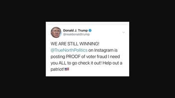 Fact Check: Donald Trump Did NOT Tweet 'WE ARE STILL WINNING!'