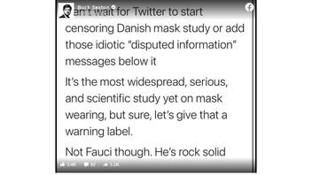 Fact Check: New Mask Study Did NOT Prove 'Mask Wearing Basically Doesn't Do A Damn Thing'