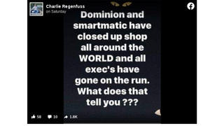 Fact Check: Dominion And Smartmatic Have NOT Closed Up Shop; Executives Are NOT On The Run