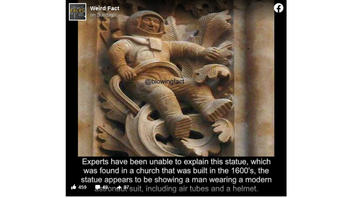 Fact Check: The Astronaut Stone Carving On Spain's Cathedral of Salamanca Is NOT A Mystery