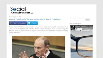 Fact Check: Vladimir Putin Did NOT Reveal 'The West Is Controlled By Satanic Pedophiles'