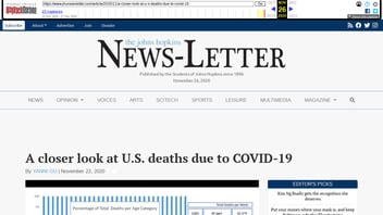 Fact Check: Johns Hopkins Student Paper Retracted Because CDC Data DOES Show Excess Deaths Caused By Covid-19