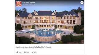 Fact Check: This Is NOT A Photo Of Sen. Kelly Loeffler's Atlanta House