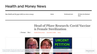 Fact Check: Head Of Pfizer Research Did NOT Say COVID Vaccine is Female Sterilization