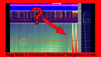 Fact Check: Spikes On Schumann Resonance Readout Do NOT Show Dangerous Disturbance In Ionosphere