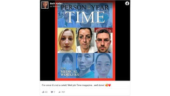 Fact Check: Frontline Medical Workers Were NOT Chosen As Time Magazine's Person of The Year