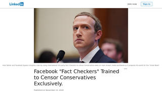 Fact Check: Fact-Checking on Facebook Is NOT Done by Appen. How Fact-Checking Actually Works Is NOT How 'Whistleblower' Describes It