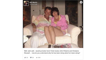Fact Check: Chief Justice John Roberts Is NOT In A Photo With Ghislaine Maxwell
