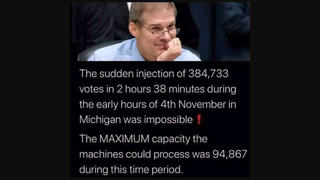 Fact Check: 'Sudden Injection' Of Nearly 385,000 Votes In Michigan Does NOT Prove Election Fraud
