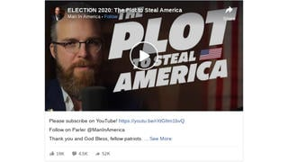 Fact Check: Purported Evidence in 'The Plot To Steal America' Video Does NOT Support Election Fraud Claims -- Mostly Consists of Rehashed Hoaxes
