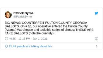 Fact Check: Atlanta Warehouse Does NOT House Counterfeit Fulton County, Georgia Ballots