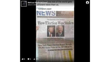 "Fact Check: New York Times Election Report Did NOT Reveal 104,984 Stolen Votes in Ga, 347,768 in PA -- Also NOT Published In ""European paper"""
