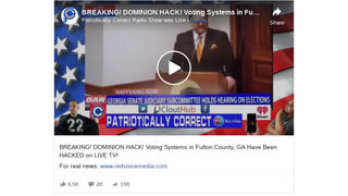 Fact Check: Despite Claims In Georgia Senate Hearing, Dominion Voting Machines Were NOT Hacked Because They Don't Have Modems