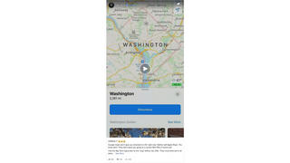 Fact Check: Apple Maps And Google Maps Directions To Washington, D.C., Were NOT Down Ahead Of Rallies To Support Overturning Election