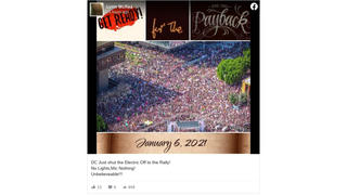 Fact Check: 'The Big Payback' Meme Uses Old Photo From Los Angeles 2017 Women's March -- Not January 6, 2021, In DC