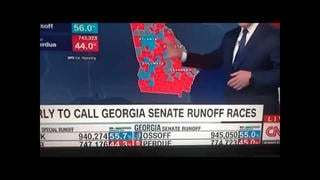 Fact Check: 32,000 Votes Did NOT 'Disappear' From U.S. Senate Candidate Perdue Live On CNN And ABC -- A Typo Was Corrected