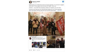 Fact Check: Tattooed Man Wearing Horns Storming The Capitol Is NOT Antifa/Pedophile -- He Is A QAnon/Trump Supporter