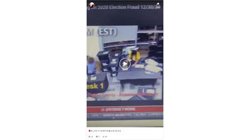 Fact Check: Video From Georgia Does NOT Show Election Official Improperly Scanning The Same Ballots Multiple Times