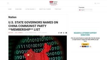 Fact Check: U.S. Governors' Names Are NOT On Leaked List Of Chinese Communist Party Members