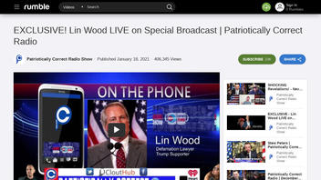 Fact Check: Lin Wood Did NOT Base His Claims Of Trump Landslide, COVID Hoax, Vaccine Lethality On Verifiable Sources