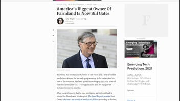 Fact Check: America's Biggest Owner Of Farmland IS Now Bill Gates -- But He Owns Less Than 0.1% Of All U.S. Farmland