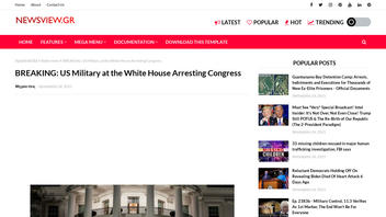 Fact Check: The U.S. Military Was NOT At The White House Arresting Congress 'Today' on January 25, 26, 27, Nor 28, 2021
