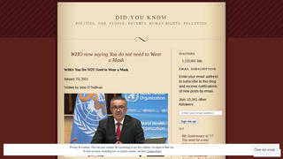 Fact Check: The World Health Organization (WHO) Did NOT Say You Do Not Need To Wear A Mask