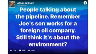 Fact Check: Hunter Biden Does NOT Work For A Foreign Oil Company