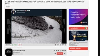 Fact Check: Video Of Giant Pandas Playing In The Snow Is NOT A Coded Message